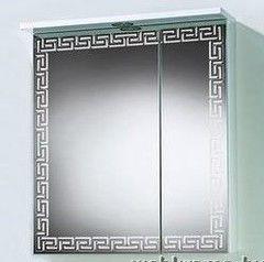 Мебель для ванной комнаты Акваль Зеркало-шкаф Паола 60 белый