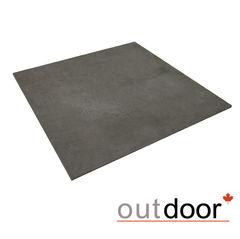 Плитка Плитка Outdoor 600x600x10мм, серая ales