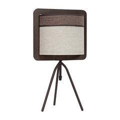 Настольный светильник Sigma 20218 Szyk коричневый
