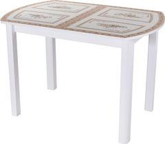 Обеденный стол Обеденный стол Домотека Гамма ПО (БЛ ст-72 04) 70x110(147)x75