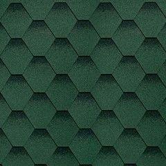 Гибкая черепица Гибкая черепица Shinglas Cамба Зелёный