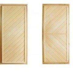 Дверь для бани и сауны Дверь для бани и сауны EcoDoor Вагонка Эконом ДГ 1900х700