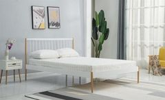 Кровать Кровать Halmar Lemi 120 (белый/дуб натуральный)