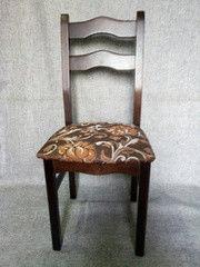 Кухонный стул Ельская мебельная фабрика МД-235.1 цветы коричневые