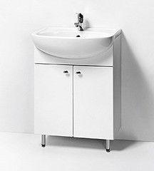 Мебель для ванной комнаты Акваль Тумба с умывальником Порто 60
