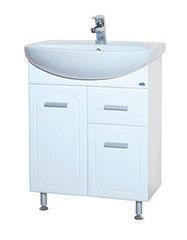 Мебель для ванной комнаты Bellezza Тумба с раковиной Стелла 65 см с 1 ящиком