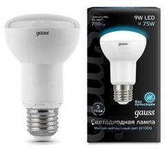 Лампа Лампа Gauss 106002209, E27, R63, 9Вт