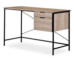 Письменный стол Signal B-183 (дуб/черный)