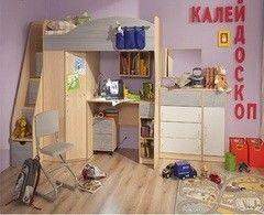 Детская комната Детская комната Глазовская мебельная фабрика Калейдоскоп 01