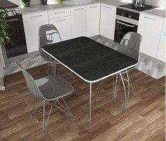 Обеденный стол Обеденный стол Дисави Титан черный