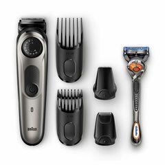 Машинка для стрижки волос Машинка для стрижки волос Braun BT7020 + Бритва Gillette