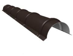 Комплектующие для кровли ИЗОГРУПП Конек круглый (0.5 мм) матовый