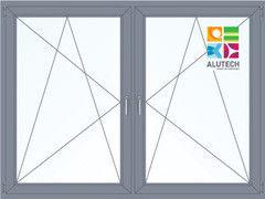 Алюминиевое окно Alutech 2000*1500 ПО+ПО