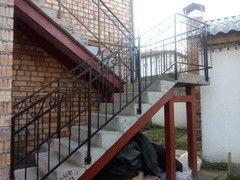 Элементы ограждений и лестниц ИП Кузура В.С. Пример 44Д
