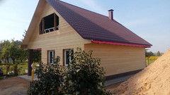 Строительство домов Строительство домов ИП Пригожий В.В. Проект дома 1