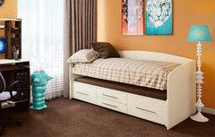 Детская кровать Детская кровать Олмеко Адель-5 (дуб линдберг)