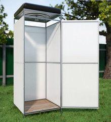 Летний душ для дачи Летний душ для дачи Капасити с тамбуром с баком на 150 л с подогревом
