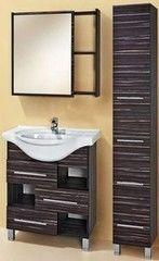 Мебель для ванной комнаты Акваль Элиза 75