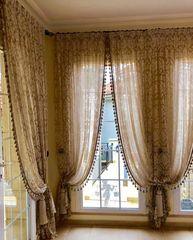 Штора, гардина Текстиль в интерьере Пример 40