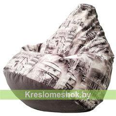Бескаркасное кресло Бескаркасное кресло Kreslomeshok.by Груша Italy-2 Г2.5-136