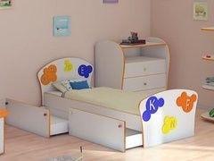 Детская комната Детская комната ОРМАТЕК Соната Kids Буквы (90x200)