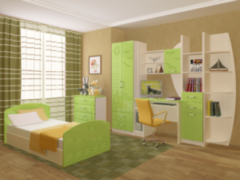 Детская комната Детская комната Регион 058 Юниор-2 МДФ