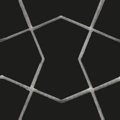Мозаика Мозаика Vitra Shape 3 Ral Siyah черный