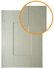Мебельный фасад Мебельный фасад ЗОВ-Профиль Техно 5 ПП Беленый
