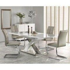 Обеденный стол Halmar Sandor 2 серый