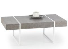 Журнальный столик Halmar Tiffany (серый/ белый)