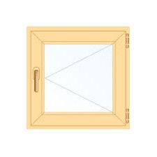 Деревянное окно Сосна для бани, 1с, Модель 1