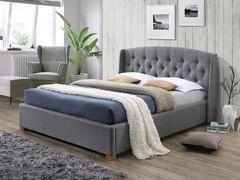 Кровать Кровать Signal Hampton 160x200 (серый)