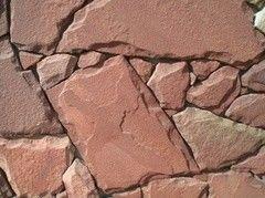 Натуральный камень Натуральный камень Мистер Плиткин Песчаник терракотово-красный (3 см)