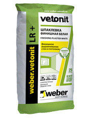 Шпатлевка Шпатлевка Weber-Vetonit Vetonit LR+ 25кг