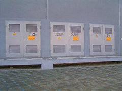 Дверь промышленная, противопожарная ФИРМА ВАСА Ворота для трансформаторной подстанции (для ТП) 2