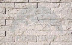 Искусственный камень РокСтоун Мрамор узкий 1100П белый