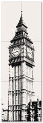 Плитка Плитка Maciej Zien London Piccadilly Big Ben 1 59.8x179.8