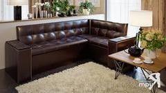 Кухонный уголок, диван ТриЯ Остин (коричневый)