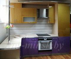 Кухня Кухня ЗОВ крашеный мдф по RAL (160х280)