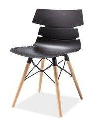 Кухонный стул Signal Ferro (черный/бук)