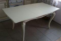 Обеденный стол Обеденный стол Red&Black Людовик (Слоновая кость 1013/Золотая патина)