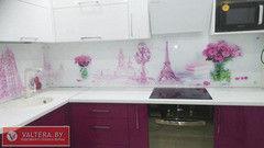 Скинали Valtera Кухонный фартук 6мм с УФ печатью стекло оптивайт