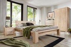 Кровать Кровать Стэнлес Фьорд 160х200 (отбеленный дуб)