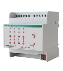 Умный дом GVS 4-х канальный модуль управления шторами AWBS-04/00.1