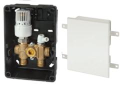 Комплектующие для систем водоснабжения и отопления Meibes Регyлировочный короб RTL-I Standard со скрытым термоэлементом (F11831) без расходомера