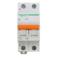 Schneider Electric Автоматический выключатель Домовой ВА63 1П+Н 6A C 4,5 кА 11211