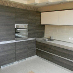Кухня Кухня AA-Glass Пример 15 (ЛДСП Egger)