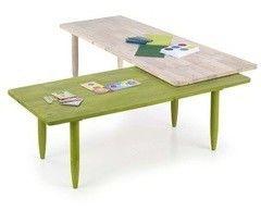 Журнальный столик Halmar Bora-Bora зеленый