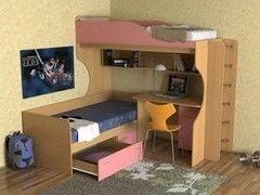 Двухъярусная кровать СлавМебель Дуэт 5