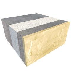 Блок строительный Теплоблок Рядовой БР 400.200.400 (М200,15)